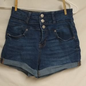 Aeropostale sz 6 high waisted 3 button fly short